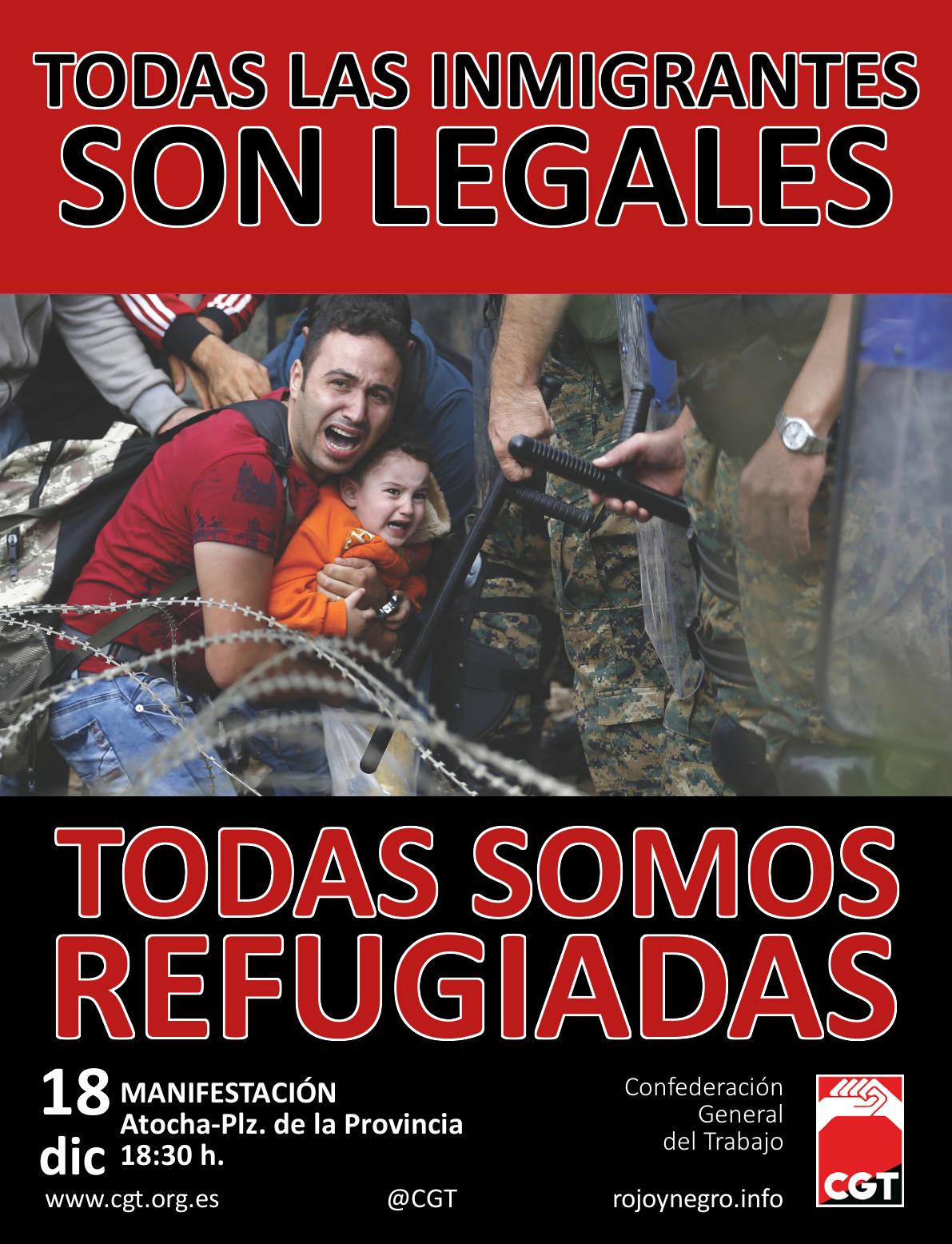 Todas somos refugiadas castellano