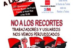 Cartel Manifestacion CGT 7-2-2012